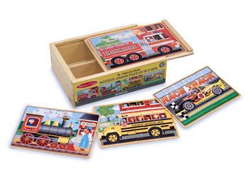M&D - Vehicles Puzzles In A Box