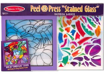 M&D - Stained Glass - Rainbow Garden