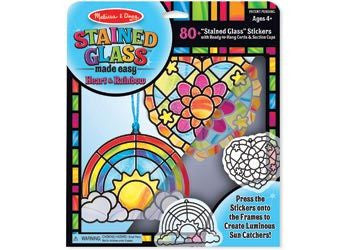 M&D - Stained Glass Made Easy - Heart & Rainbow