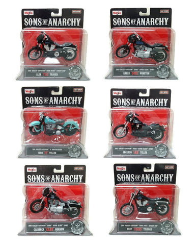 Maisto 1/18 Sons of Anarchy Harley