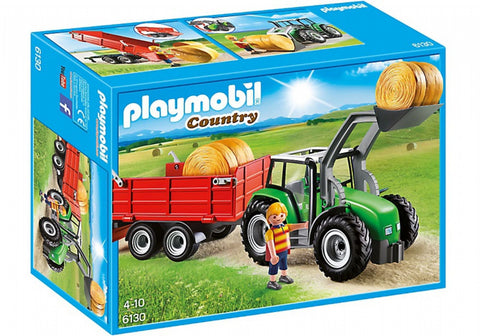Playmobil Large Tractor with Trailer