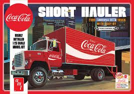 AMT 1/25 Short Hauler 1970 Ford Louisville Coca Cola