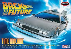 Polar Lights 1/25 Back To The Future Time Machine