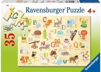 Ravensburger 35pc A-Z Animals Puzzle