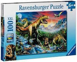 Ravensburger 100pc Time of the Dinosaurs Puzzle