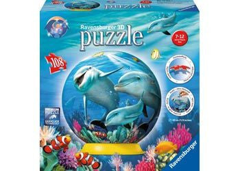 Ravensburger 108pc 3D Underwater Fantasy Puzzleball