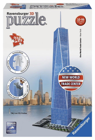 Ravensburger 216pc 3D One World Trade Center Puzzle
