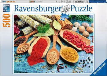 Ravensburger 500pc Colorful Spices Table Puzzle