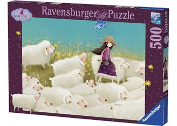 Ravensburger 500pc Buttercup Meadow Puzzle