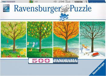 Ravensburger 500pc Four Seasons Puzzle