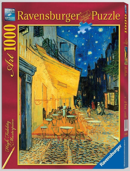 Ravensburger 1000pc Van Gogh Cafe At Night Puzzle
