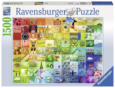 Ravensburger 1500pc 99 Colors Puzzle