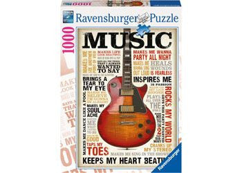 Ravensburger 1000pc Passion for Music Puzzle