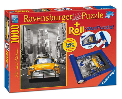 Ravensburger 1000pc New York Taxi Roll Your Puzzle