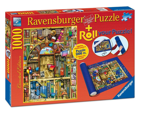 Ravensburger 1000pc Roll Your Own Bizarre Library Puzzle