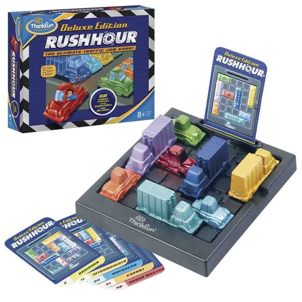 ThinkFun - Rush Hour Deluxe Edition Game Brisbane CBD City Hobbies and Toys