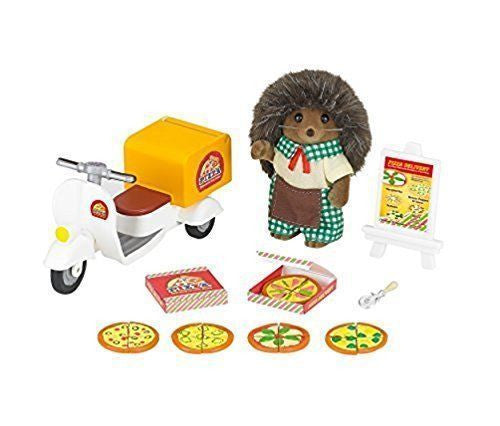 Sylvanian Families -  Pizza Delivery Set Brisbane CBD City Hobbies and Toys