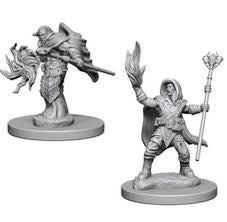 D&D Elf Male Wizard Nolzurs Marvelous Miniatures Unpainted