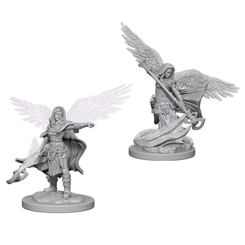 D&D Aasimar Female Wizard Nolzurs Marvelous Miniatures Unpainted Minis