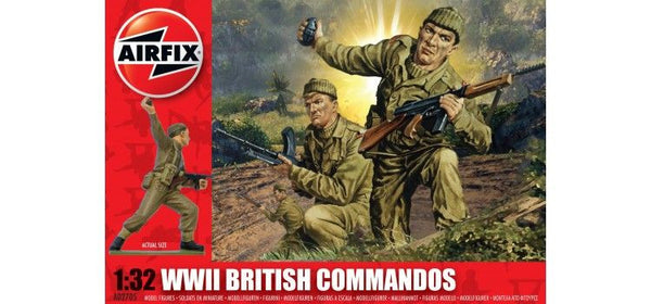 Airfix 1/32 WWII British Commandos