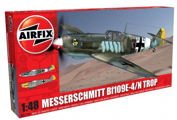 Airfix 1/48 Messerschmitt BF109E - Tropical