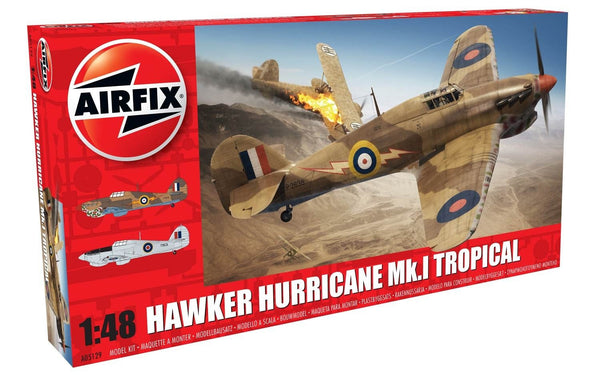 Airfix 1/48 Hawker Hurricane Mk1 Tropical