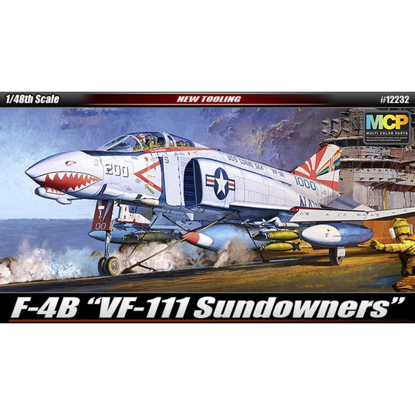 Academy 1/48 F4b Phantom Vf111 Sundowners MCP