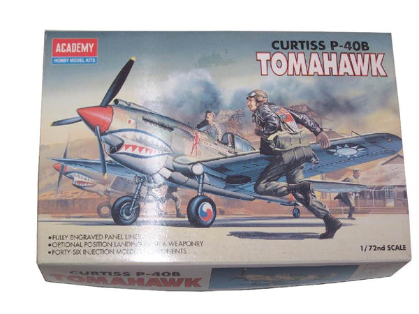 Academy 1/72 P40b Curtiss Tomahawk