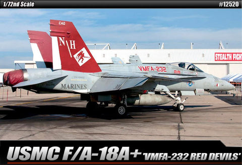 Academy 1/72 Usmc F/A 18a+ Vmfa -232 Red Devils *Aust Decals*