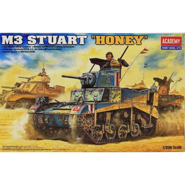Academy 1/35 M3 Stuart British Honey