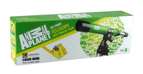 Animal Planet - 30x Telescope & Tripod