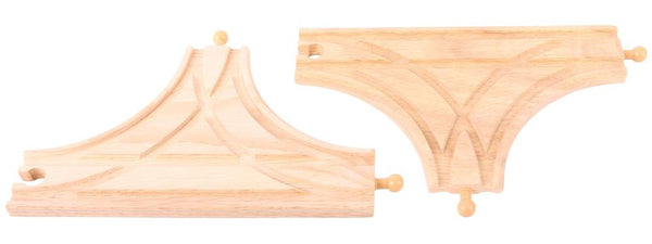 Bigjigs - T Junction - 2pcs