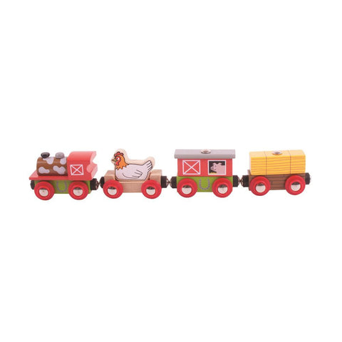 Bigjigs - Farm Yard Train