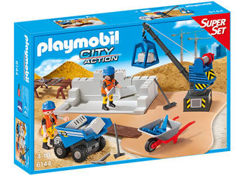 Playmobil Construction Site Super Set