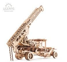 UGears Truck With Ladder