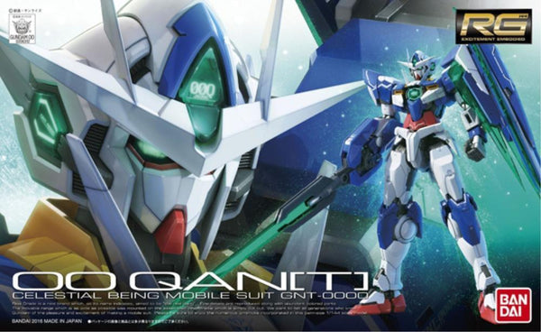 Bandai 1/144 RG 00 Qan[T] Celestial Being Mobile suit GNT-0000