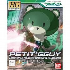 Bandai 1/144 HG Petit'Gguy Lockon Stratos Green