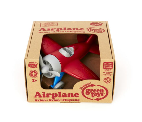 Green Toys - Airplane - Red Brisbane CBD City Hobbies and Toys