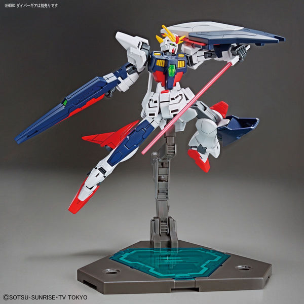 Bandai 1/144 HGBD Gundam Shining Break weapons at the ready pose