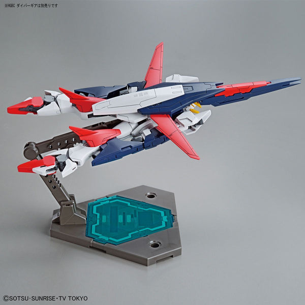 Bandai 1/144 HGBD Gundam Shining Break flight pose transformed