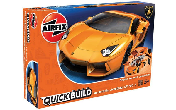 Airfix 1/72 Quick Build Lamborghini Aventador