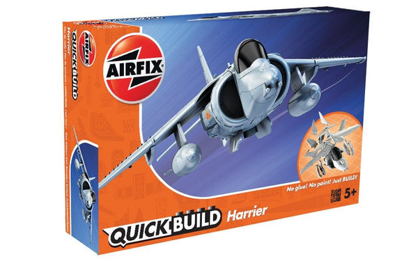 Airfix 1/72 Quick Build Harrier Starter Set