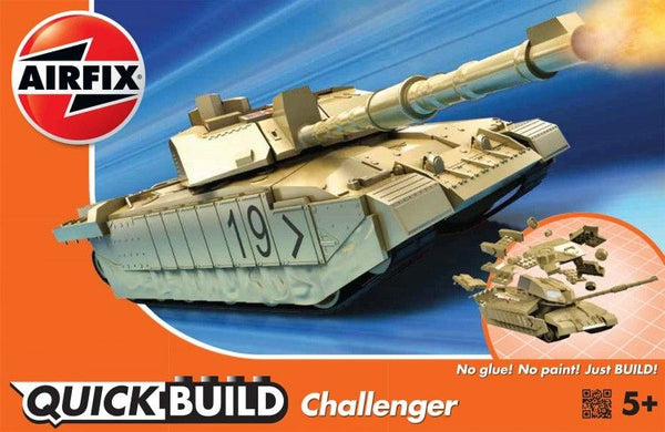 Airfix 1/72 Quick Build Challenger Tank Starter Set