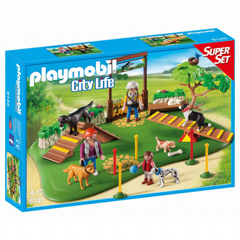 Playmobil Dog Park Super Set Brisbane CBD City Hobbies and Toys