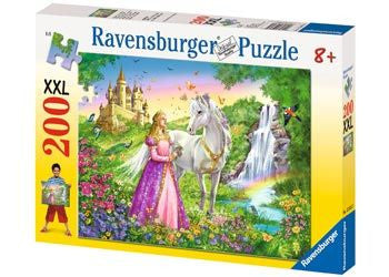 Ravensburger 200pc Princess with Horse Puzzle Brisbane CBD City Hobbies and Toys