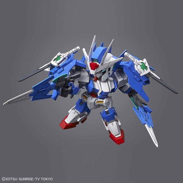 Bandai SD Gundam Cross Silhouette OO Diver Ace action pose 2