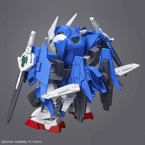 Bandai SD Gundam Cross Silhouette OO Diver Ace rear view