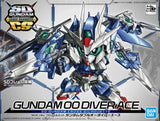 Bandai SD Gundam Cross Silhouette OO Diver Ace package art