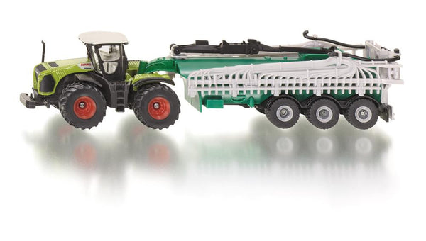 Siku 1/87 Claas Xerion with slurry tanker
