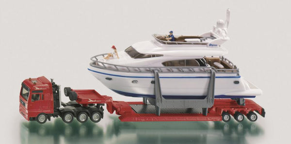 Siku 1/87 Transporter with Yacht